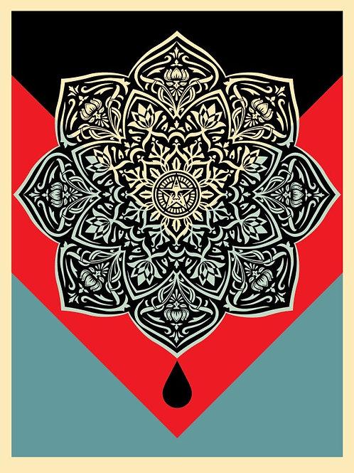Blood & Oil Mandala (Oil Drop) 2017