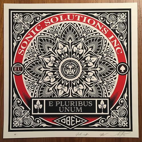 E Pluribus Unum 61 x 61 cm