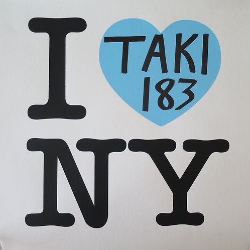 Taki 183 I Heart NY: Blue Edition 2021