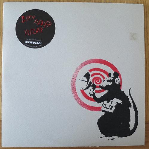 Dirty Funker white red carton grey Vinyl
