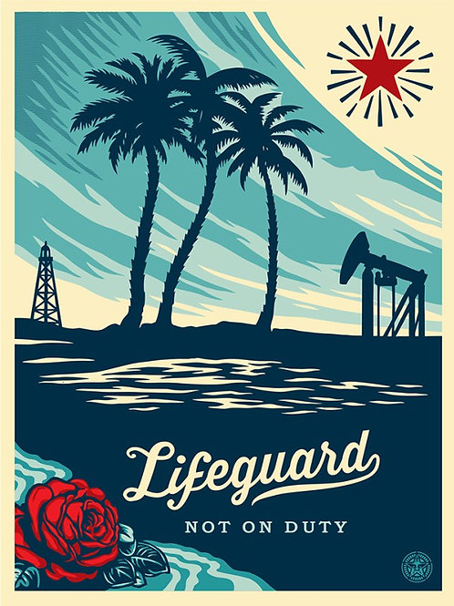Lifeguard Not On Duty 2011 61 x 46 cm