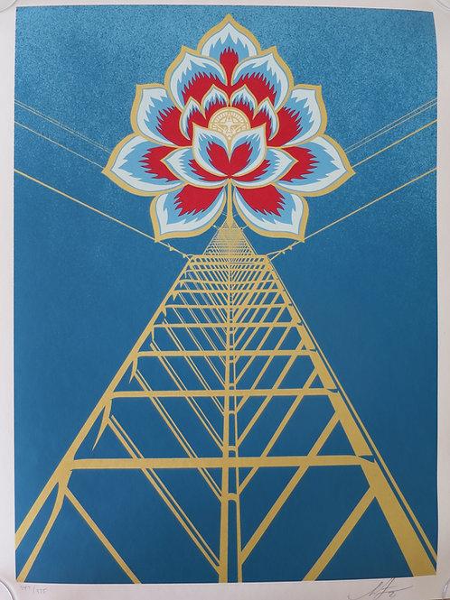 Flower Power (Blue) 2020