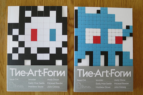 The Art Form Issue 04 [Invader Cover 1 et 2]