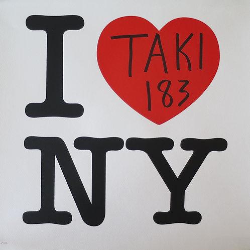 Taki 183 I Heart NY: Red Edition 2021
