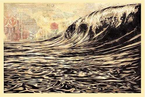 Dark Wave 91x 61 cm