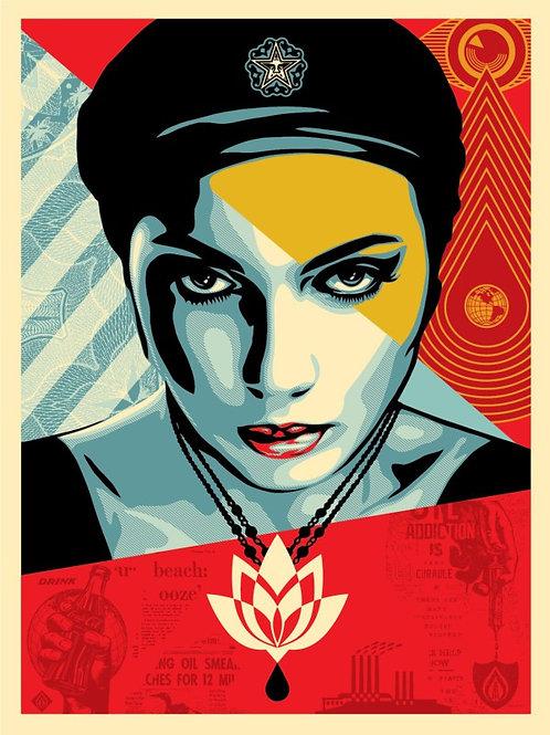 Oil Lotus Woman 2018 61 x 46 cm