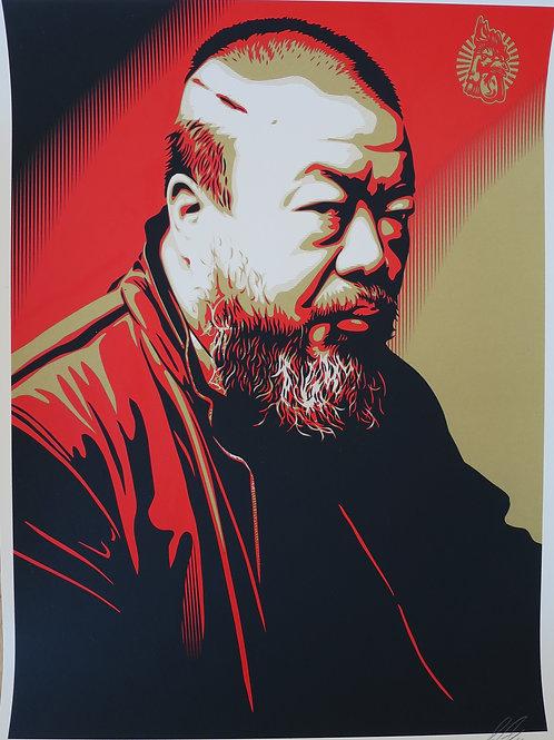 Portrait of Ai Weiwei