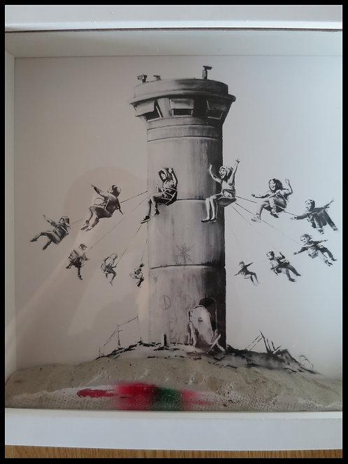 Walled OFF Hotel Box Set Print art Bethlehem & postcard