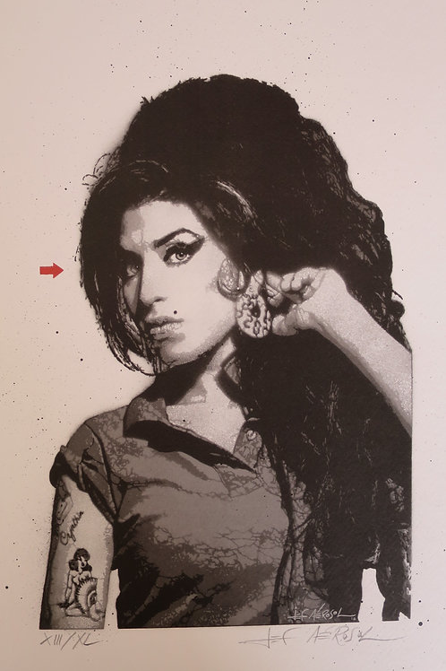 Amy Winehouse 2016 Digigraphie