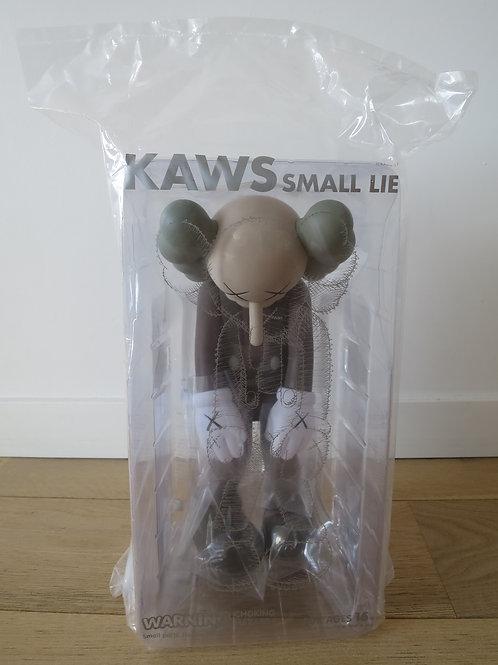Kaws Small Lie Brown
