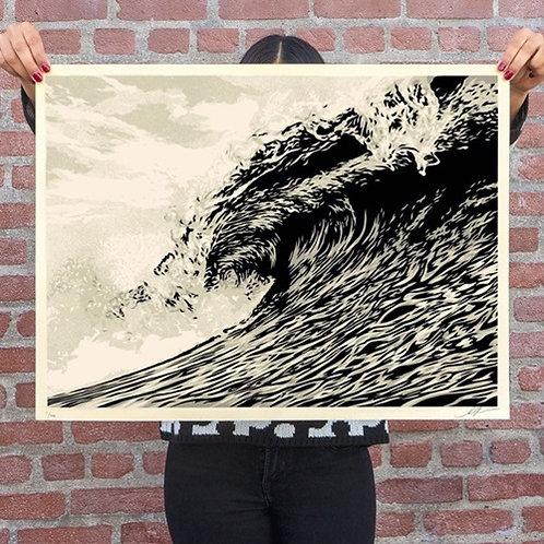 Wave of Distress (Sepia), 2021