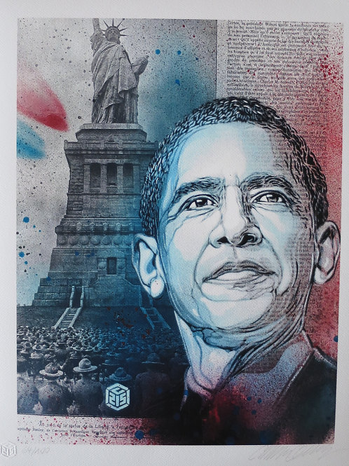 C215 - Obama (Rehaussé)