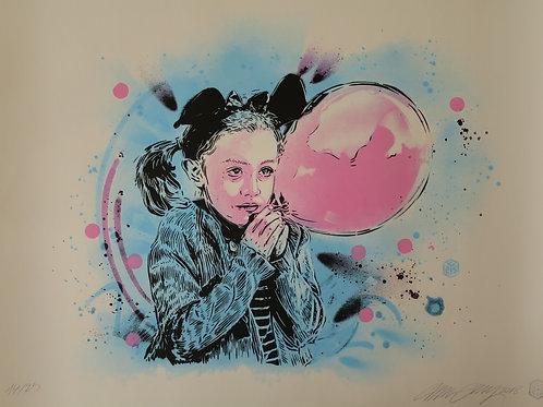 C215 La fille au ballon 2018