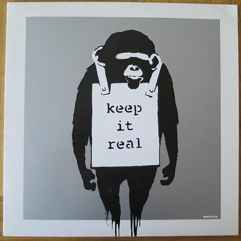 Keep It Real Silver Vinyl