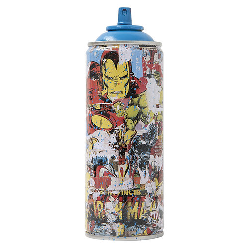 Iron Man Cyan
