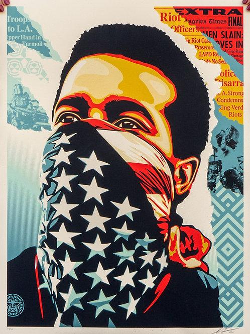 American Rage 61 x 46 cm