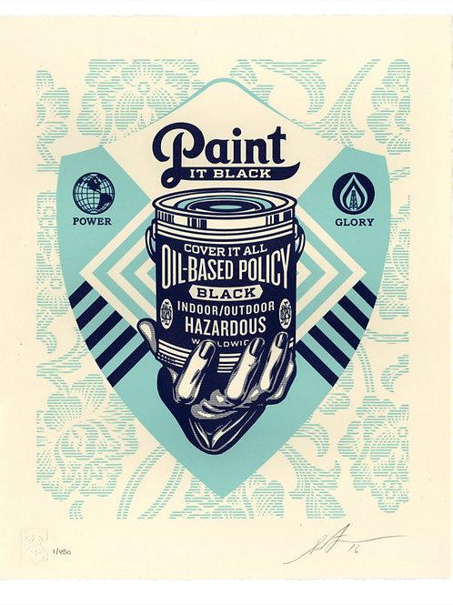 Paint It Black Letterpress