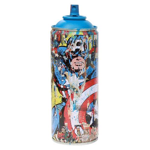 Captain America Cyan