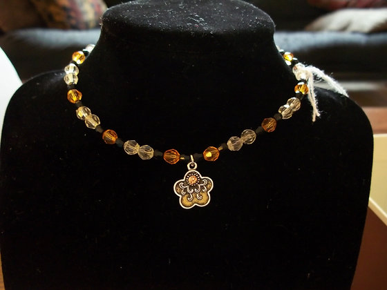 Bumblebee Child's Necklace