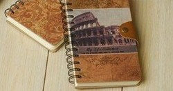 Antique Style Vintage Travel Journal & Diary