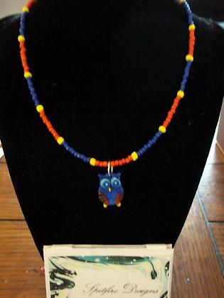 Eeyore Owl Necklace