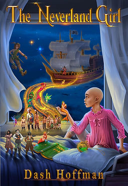 Neverland Girl, Peter Pan, Dash Hoffman, Neverland Story, Neverland Book, Mermaids, Pirates, Captain Hook, Mrs. Perivale, Lost Boys, Fairies, Pixies, Fairytales, Bestseller, Second Star to the Right, JM Barrie, GOSH, Great Ormond Street Children's Hospital, St. Judes, Kids with Cancer, Book, Story,