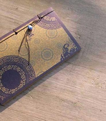 Beaded Chinese Hardback Writing Journal