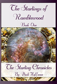 Dash Hoffman, book, novel, The Starlings of Ramblewood, The Starling Chronicles, Time Travel, Space, Pirates, Science, Trilogy, Fantasy fiction, Brown Paper Packages Book Club