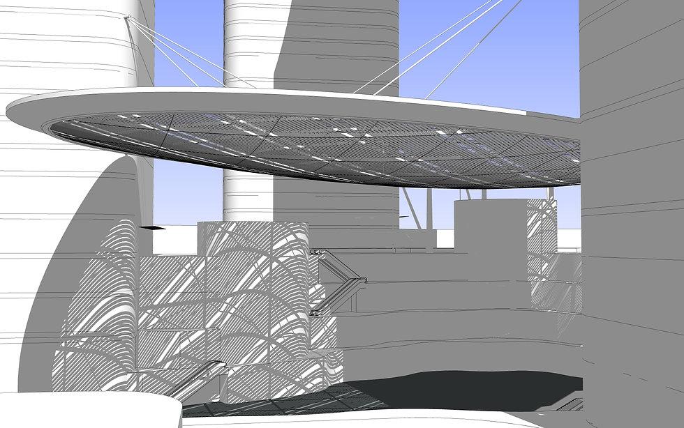 SHANGHAI MALL roof canopy