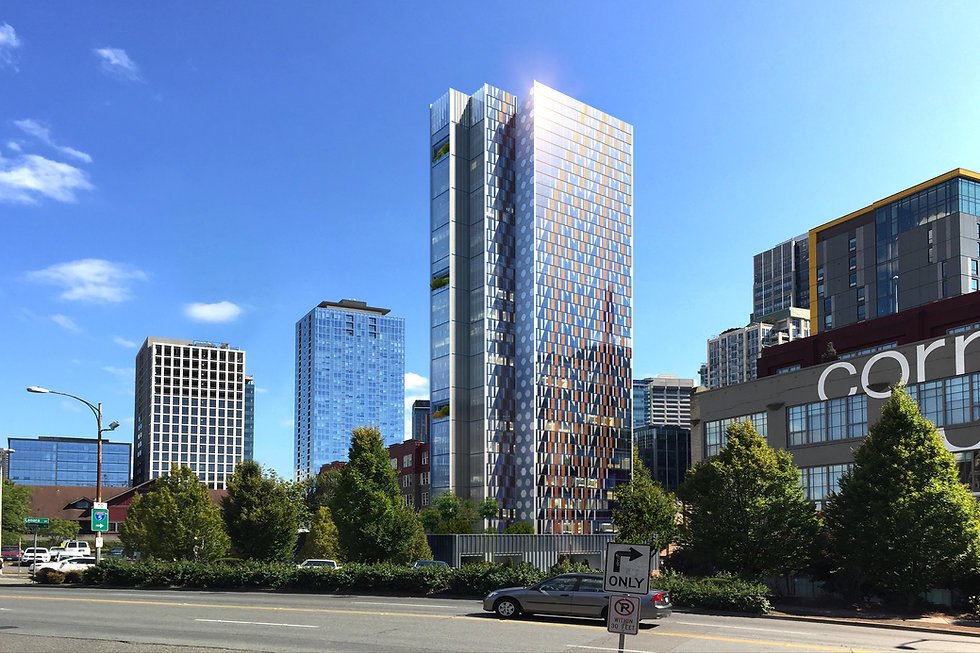 Seattle MASS TIMBER Residential TOWER