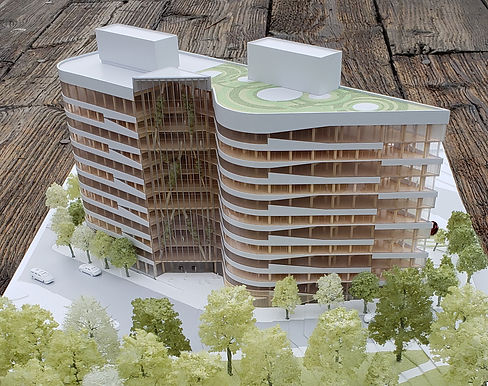 TALL WITH TIMBER, Mass timber mixed-use building in Seattle