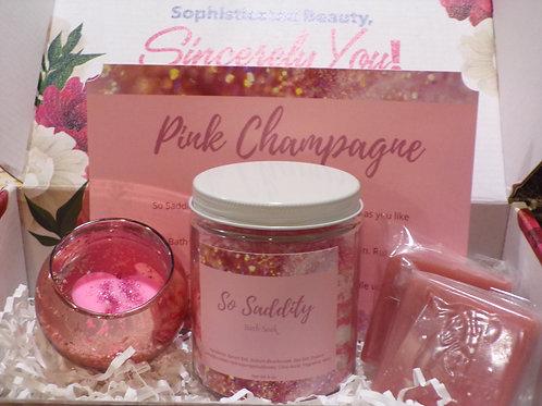 Pink Champagne Gift Box