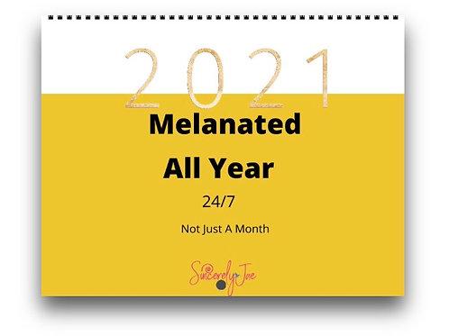 2021-2022 Melanated Calendar