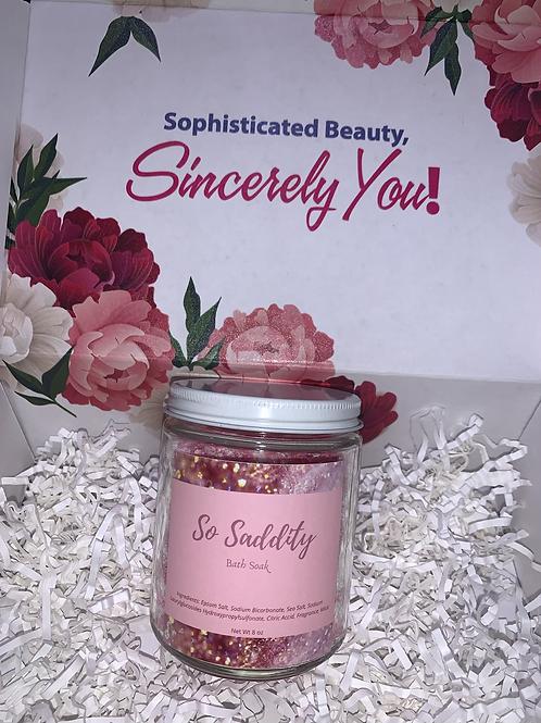 Bath Salt & Candle Set