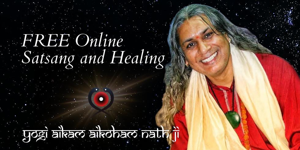 "FREE Zoom Online ""Satsang and Healing"""