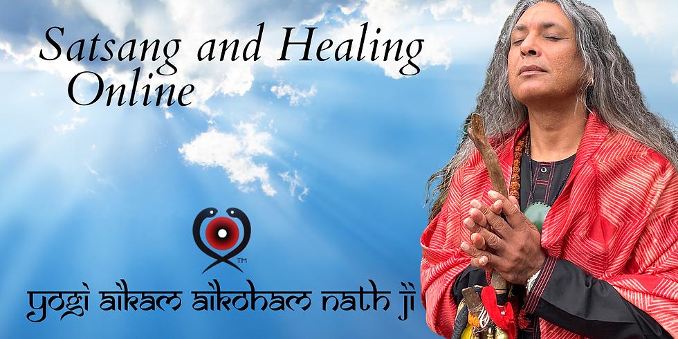 Zoom Online Satsang and Healing