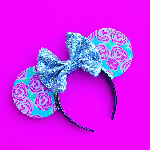 Lilly P Floral Mouse Ears
