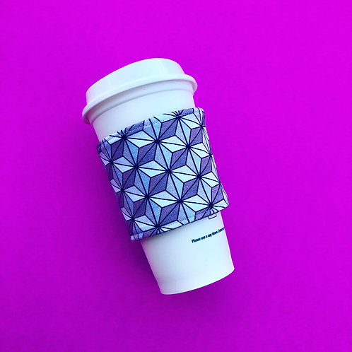 Spaceship Earth Coffee Cozy