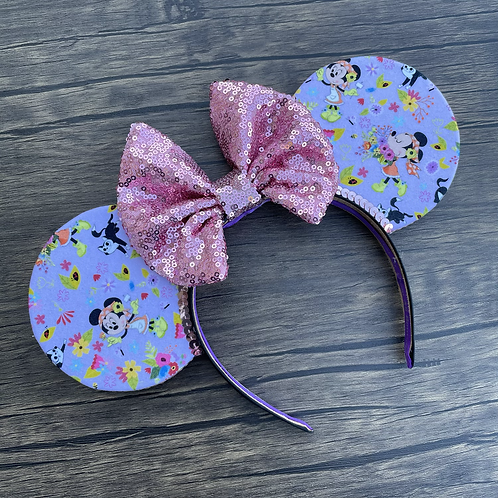 Minnie In Bloom Mouse Ears