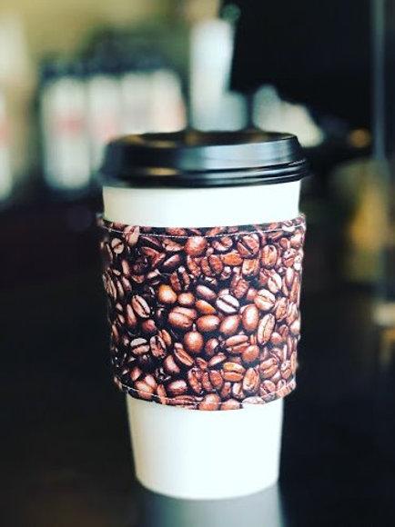Coffee Bean Coffee Cozy