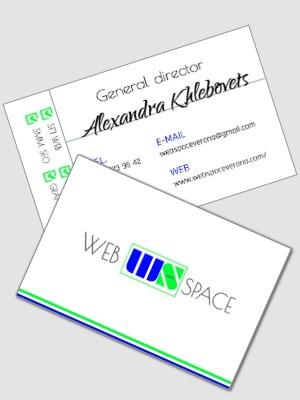creazione biglietto da visita, creazione listino prezzi, web design,