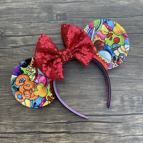 Velvet Snack Mouse Ears