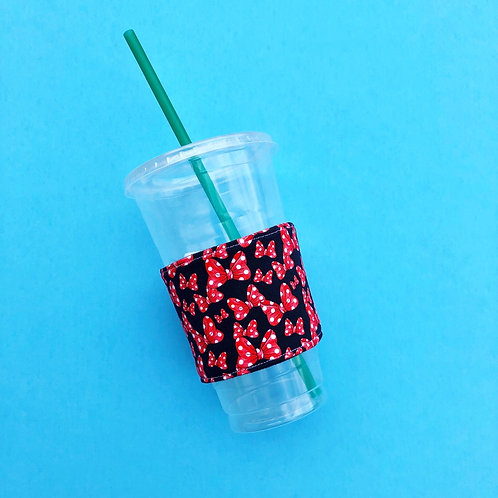 All About The Bows Coffee Cozy
