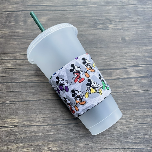 Running to Pride Coffee Cozy
