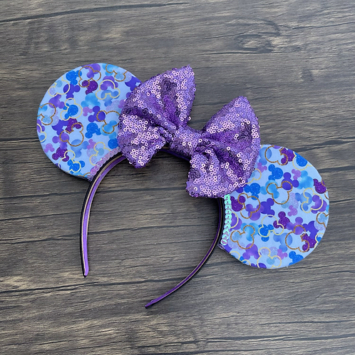 50th Celebration Confetti Mouse Ears (day base)