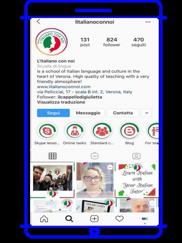 Scuola di lingua e cultura italiana @litalioanoconnoi