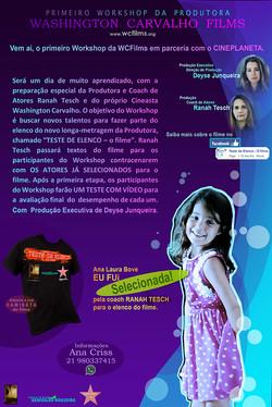 Divulgação Work - Ana Laura Bove.