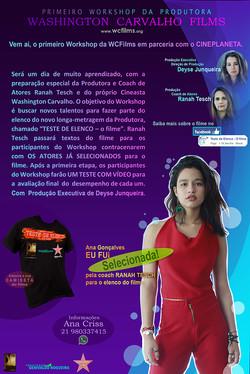 Divulgação Work - Ana Gonçalves.