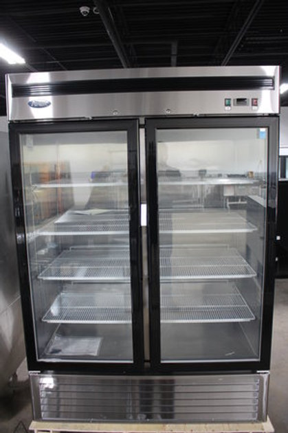 72-0058 2 Door Atosa Refrigerator