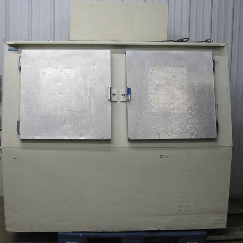 142-0070 Polar Temp 600CW Cold Wall Outdoor 2 Door Ice Merchandiser Freezer